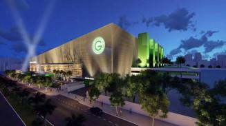 Novo Estádio da Serrinha: iluminação temática