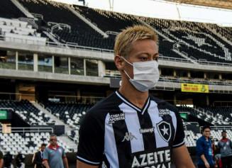 Keisuke Honda, meia japonês que joga no Botafogo (Foto: Divulgação)