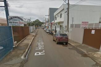 Rua Herculano Lobo, Centro de Formosa. Foto: Google Maps