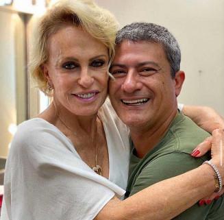 Ana Maria Braga e Tom Veiga — Foto: Reprodução/Instagram/Tom Veiga